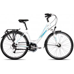 """UNIBIKE 28 VOYAGER D 19"""" BIALY 9050200119"""