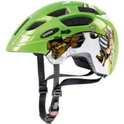 KASK UVEX FINALE JUNIOR 47/52 GREEN PIRATE