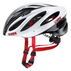 KASK UVEX BOSS RACE WHITE BLACK 52-56